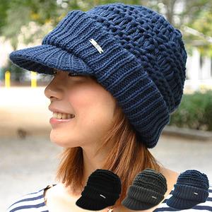レディースニット帽3
